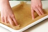 やわらかロールケーキの下準備1