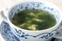 たまごワカメスープ