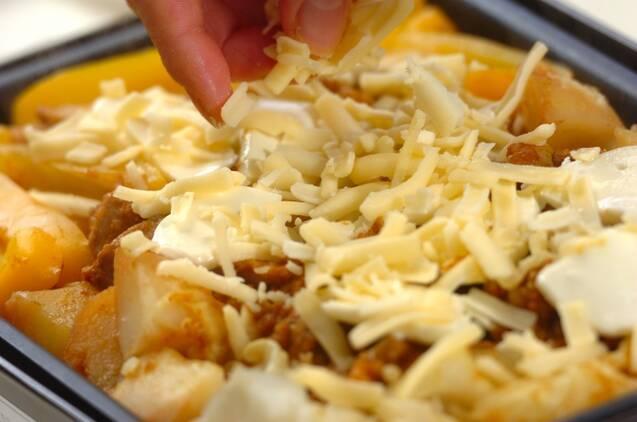 カレーチーズダッカルビの作り方の手順5