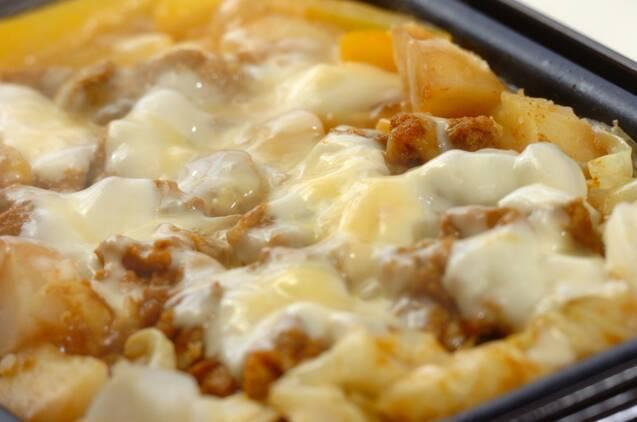カレーチーズダッカルビの作り方の手順6