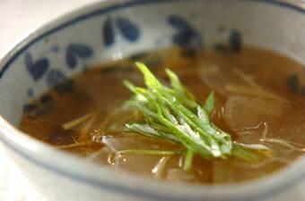 大根とショウガのスープ