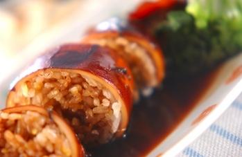 五穀米入りイカ飯