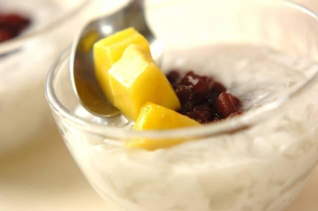 ココナッツゼリー小豆ソースの作り方の手順7