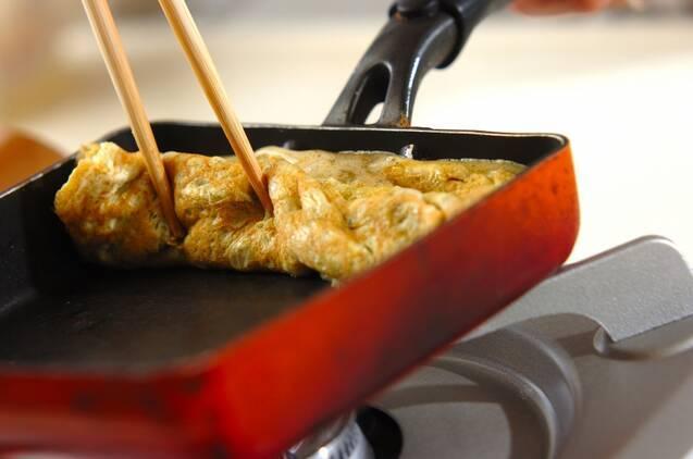 長芋と青のりのふんわり卵焼きの作り方の手順2