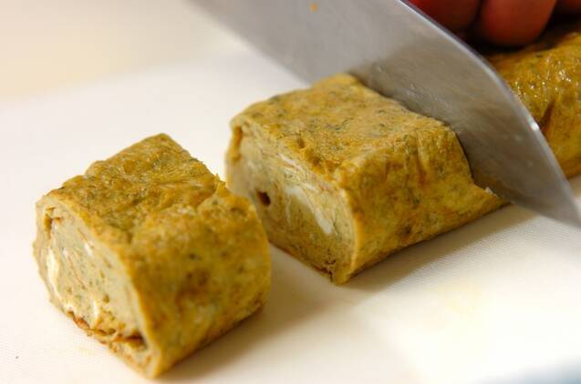 長芋と青のりのふんわり卵焼きの作り方の手順5