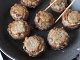 うまみじゅわーっと!しいたけ肉詰め 黄身添えの作り方4
