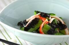 小松菜ののり和え