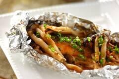 鮭のホイル包みちゃんちゃん焼き