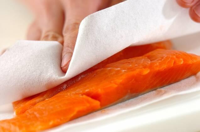 鮭のホイル包みちゃんちゃん焼きの作り方の手順1