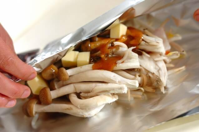 鮭のホイル包みちゃんちゃん焼きの作り方の手順4