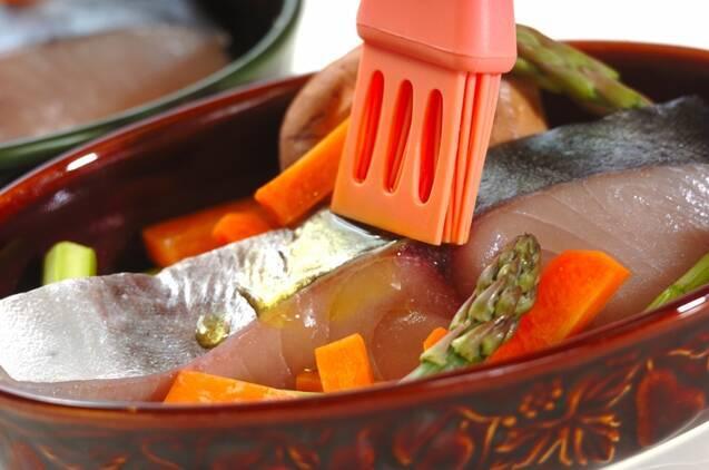 サワラのこんがりマヨみそ焼きの作り方の手順3