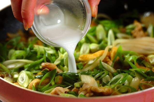 和風カレー丼の作り方の手順5