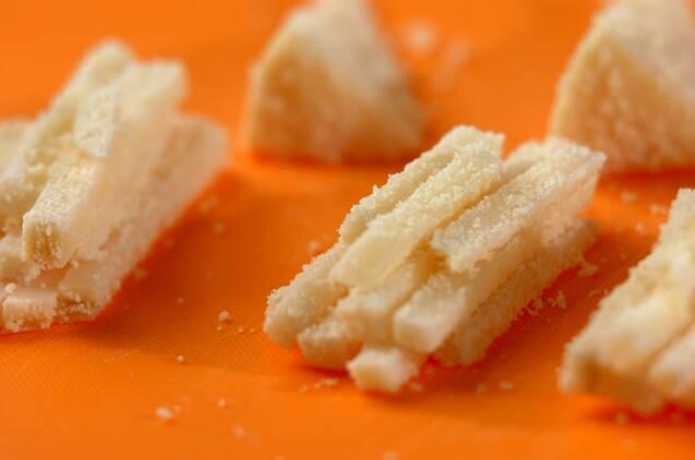タケノコの生ハム巻きフライの作り方の手順1