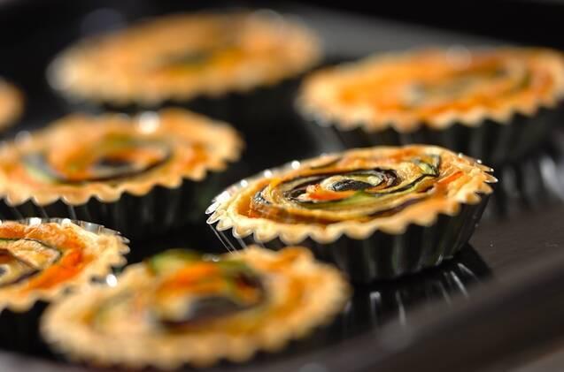コーンと野菜のキッシュの作り方の手順6