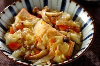 野菜たっぷり!鮭のちゃんちゃん焼き