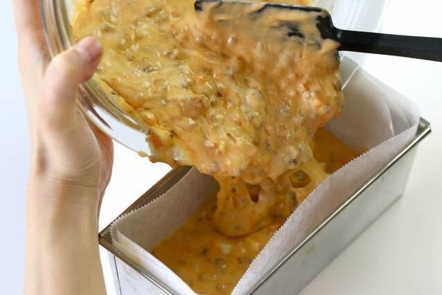 ホットケーキミックスで作るボロネーゼとチーズのケークサレの作り方の手順6