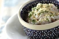 里芋のマッシュ