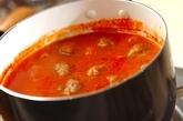甘酒とトマトのスープの作り方2