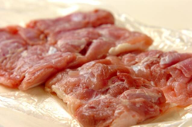 ネギみそチキンの作り方の手順1