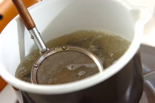 シジミのみそ汁の作り方の手順2