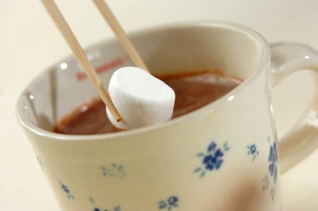 ホットチョコレートの作り方の手順3