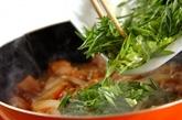 甘辛親子丼の作り方3