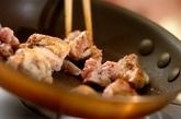 鶏肉と野菜の串焼きわさぽんソースの献立の作り方1
