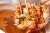 キムチ鍋の作り方2