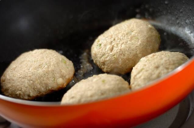 あっさり和風豆腐ハンバーグの作り方の手順6