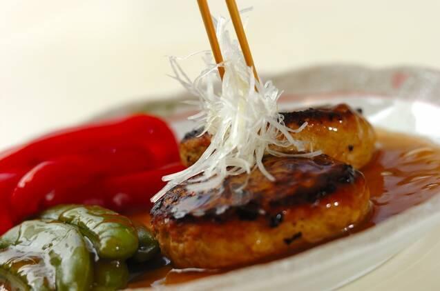 あっさり和風豆腐ハンバーグの作り方の手順9