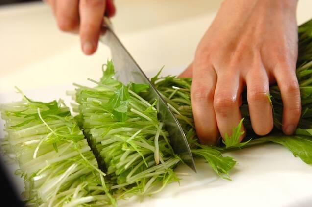タラのちり鍋の作り方の手順3