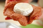 丸ごとカマンベールハンバーグの作り方2