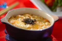 タラコポテトのチーズ焼き