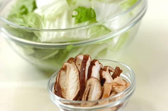 豚肉と豆腐のチャンプルーの作り方の手順2
