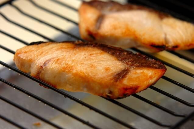 ブリのクルミみそ焼きの作り方の手順3