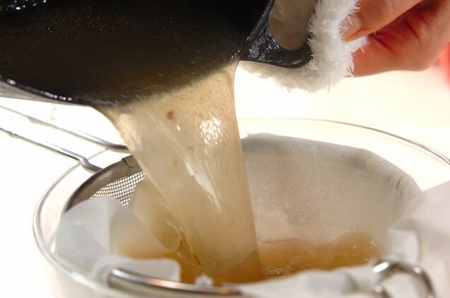 スペアリブのウスターソース煮の作り方の手順4