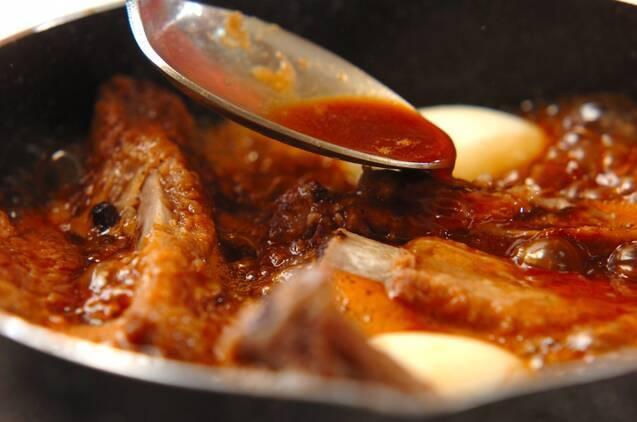 スペアリブのウスターソース煮の作り方の手順5