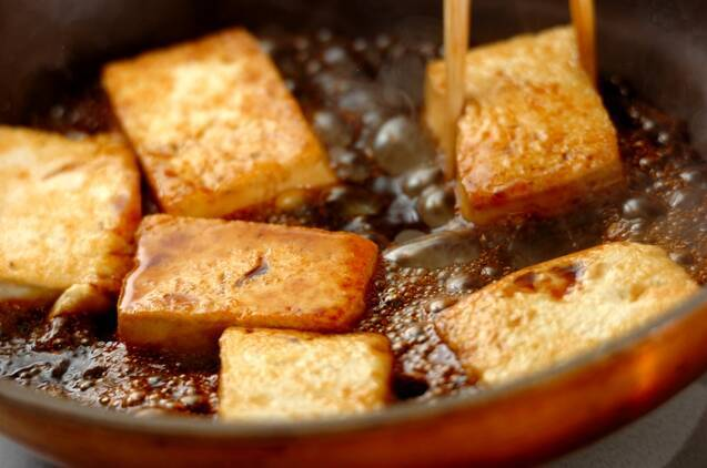 豆腐の照り焼きの作り方の手順3