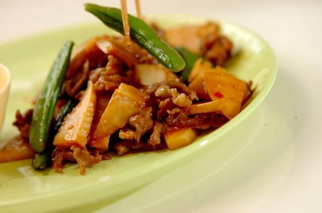 スナップエンドウと豚肉のオイスター炒めの作り方の手順7