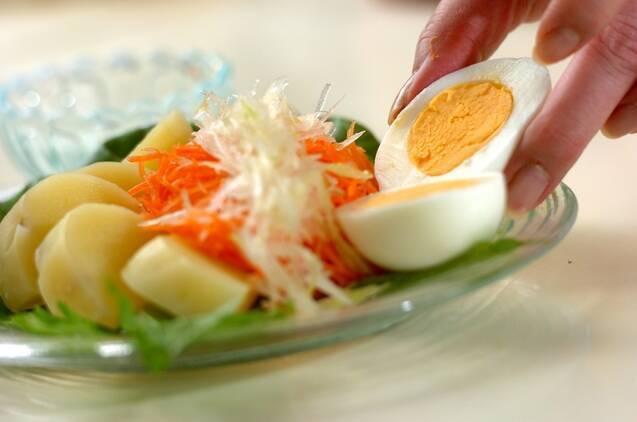 セロリとニンジンの手作りマヨネーズ・サラダの作り方の手順6