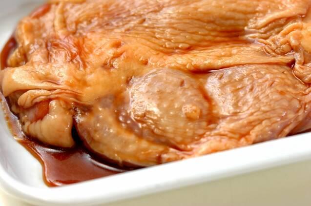 テリヤキチキンのシーザーサラダの作り方の手順3