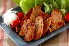 豚肉のニンニクみそ焼き