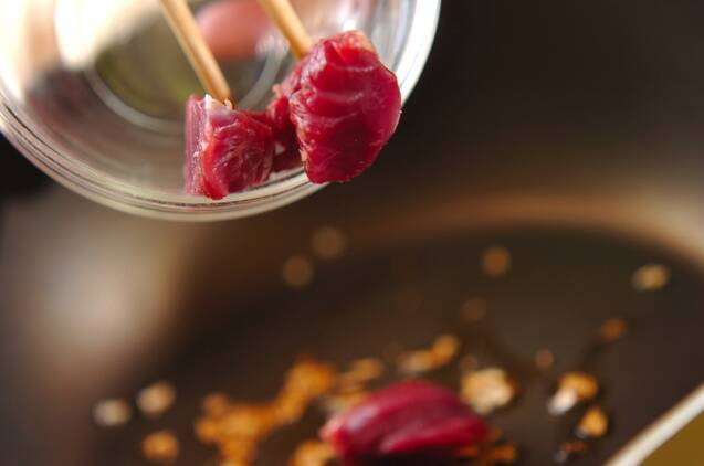 砂肝の中華炒めの作り方の手順4
