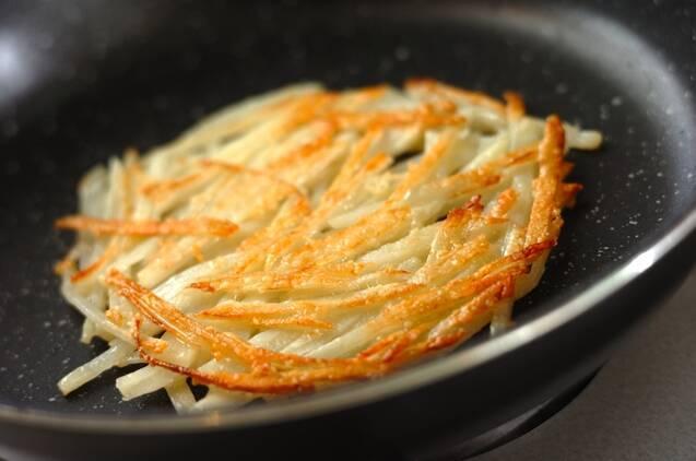 カリカリポテトハンバーガーの作り方の手順4