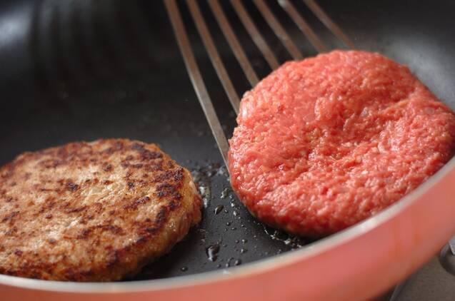 カリカリポテトハンバーガーの作り方の手順7