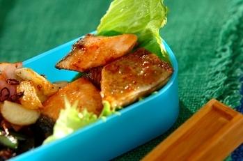 鮭のオイスターマヨネーズ焼き