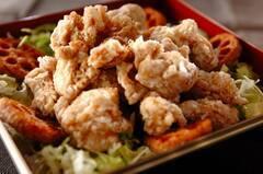 ショウガじょうゆ味鶏もも肉唐揚げ