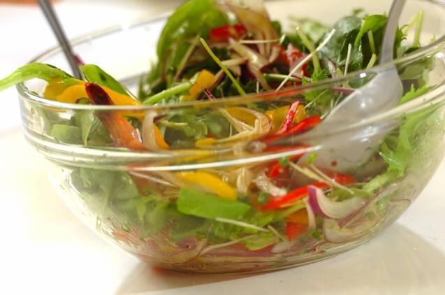 タイガーナッツとエビのヘルシーサラダの献立の作り方の手順4