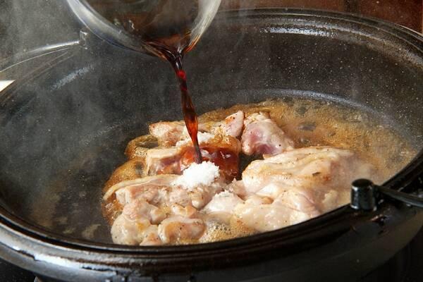 鶏肉のすき焼きの作り方の手順15