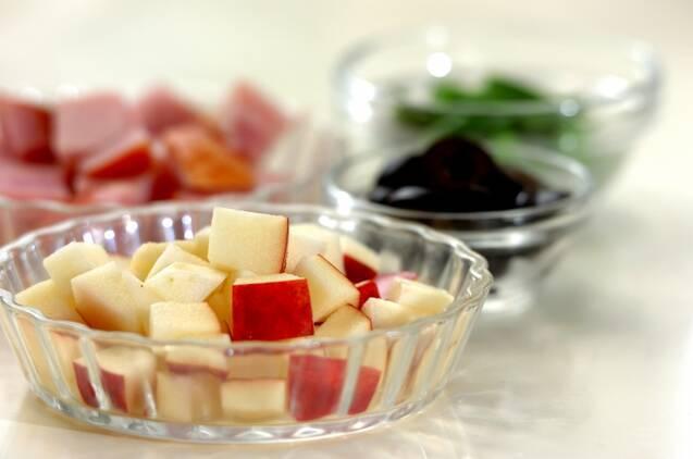 クリーミーポテトサラダの作り方の手順1